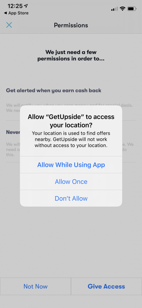 GetUpside App