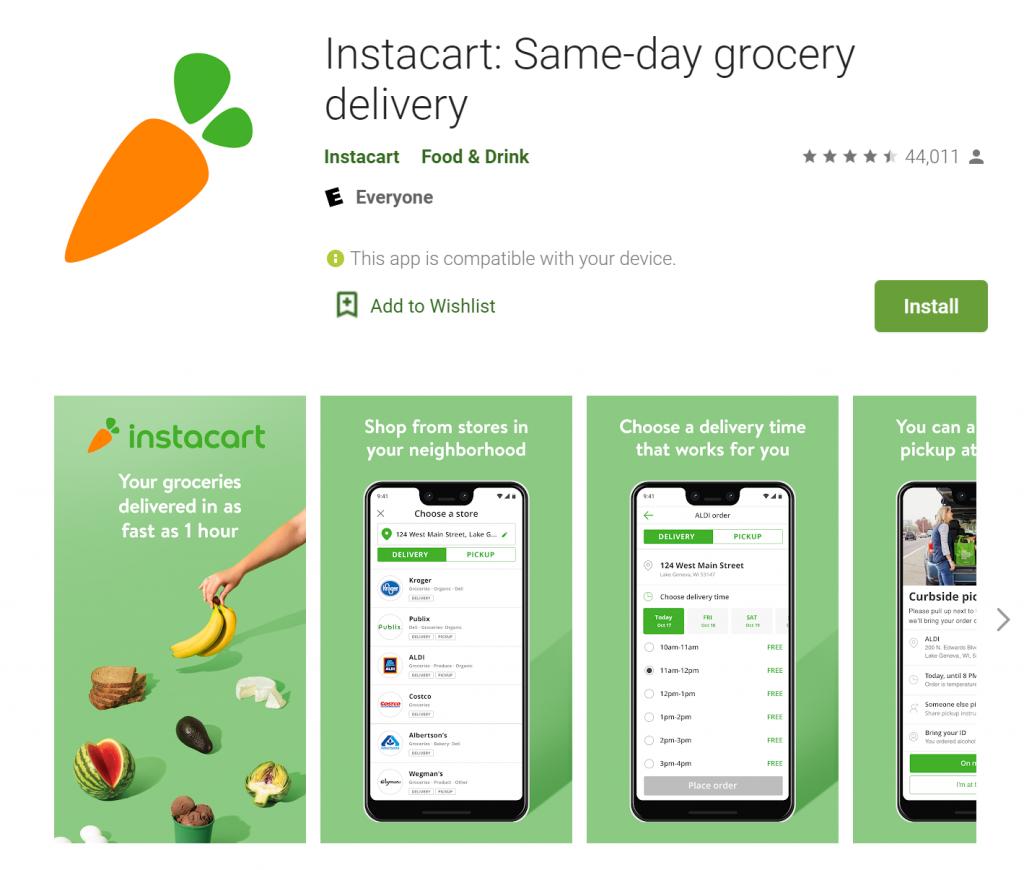 Instacart App