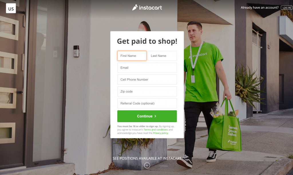 Instacart Job Reviews